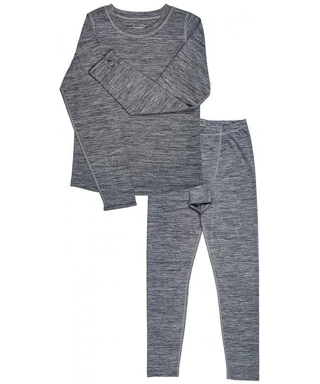 Trimfit Long Sleeve Thumbholes Thermal Underwear