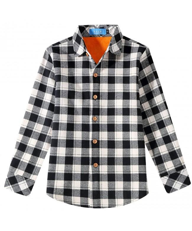 SSLR Casual Sleeve Fleece Flannel