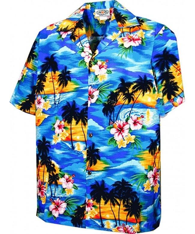 Sunset Palm Boys Hawaiian Shirts