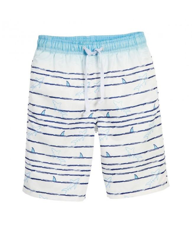 Beachcombers Swimwear Polyester Shark Shorts