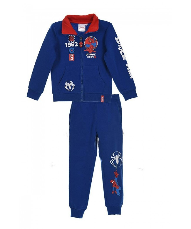 SPIDERMAN Ultimate Childrens Hooded Tracksuit