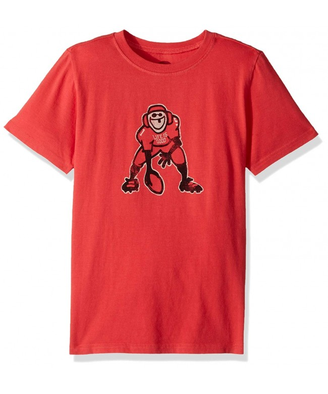 Life Good Boys Amrred T Shirt