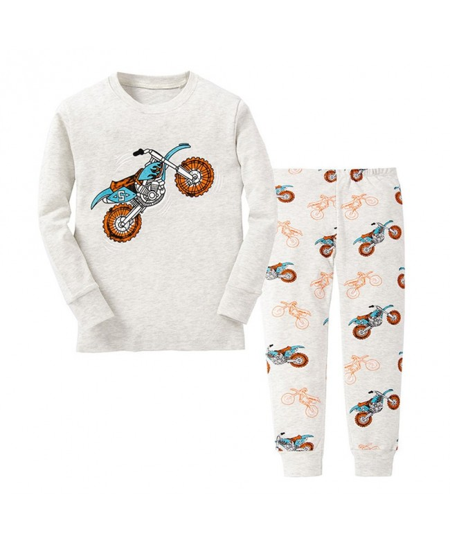TinaLuLing Pajamas children Dinosaur 2 8Years