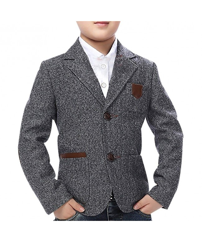 JiaYou Casual Outwear Blazer Jacket