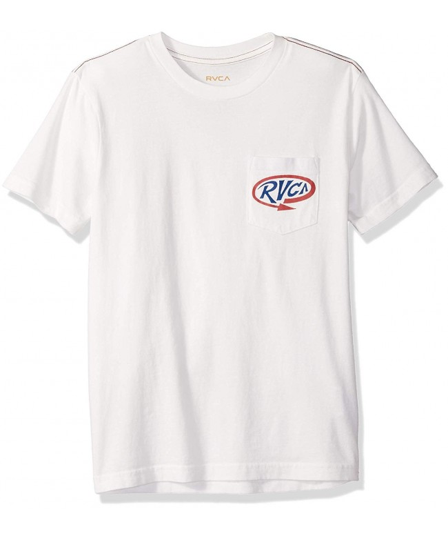RVCA Mens Looped Long Sleeve Baseball T-Shirt