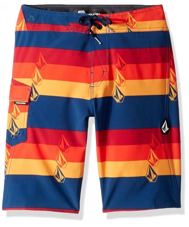 Volcom Boys Liney Stripey Boardshort