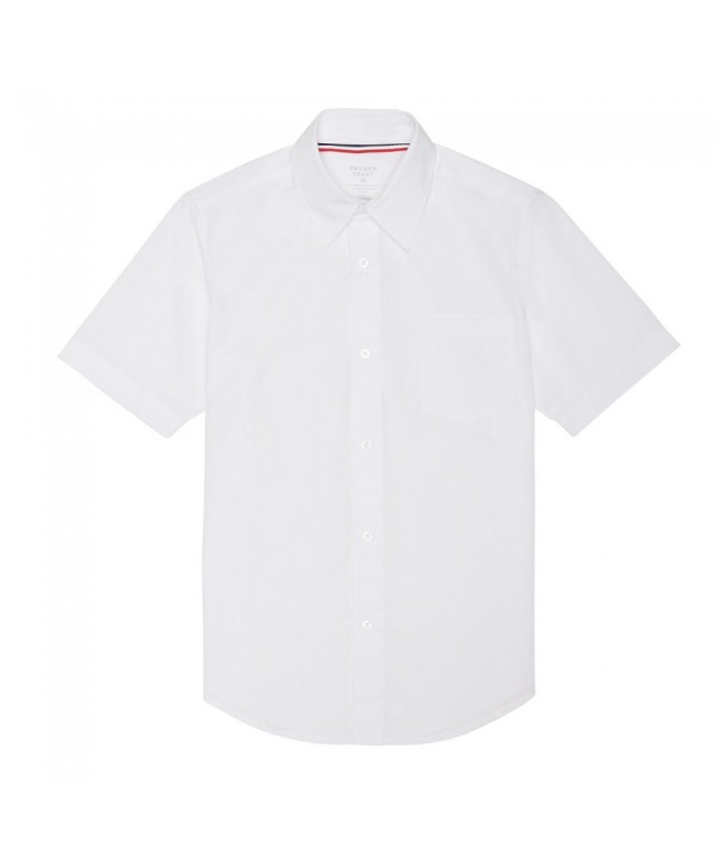 French Toast Short Sleeve Poplin