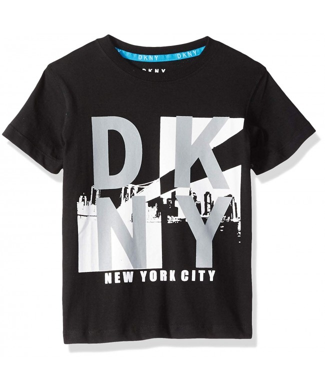 DKNY Little Sleeve Reflective T Shirt