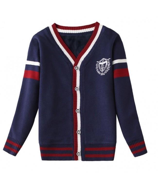 Mallimoda Sleeve V Neck Cardigan Sweater