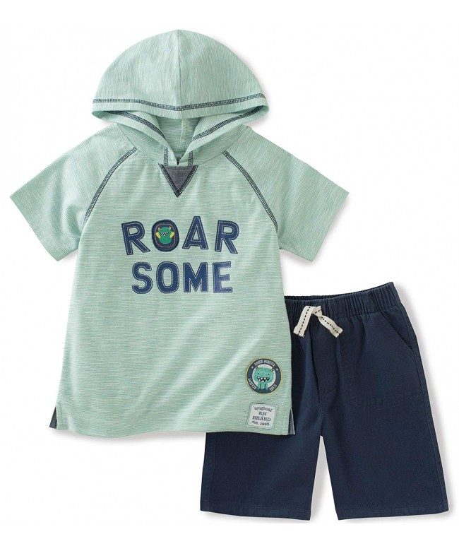 Kids Headquarters Pieces Hooded Short