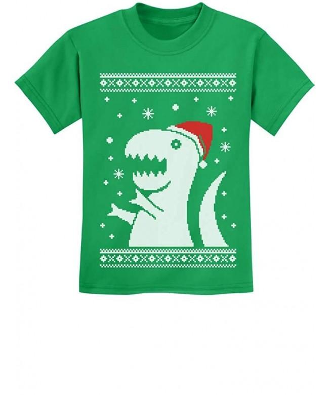 TeeStars Christmas Sweater Children T Shirt