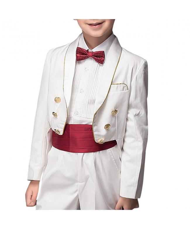 Boyland Collar Tuxedo Formal Stripe