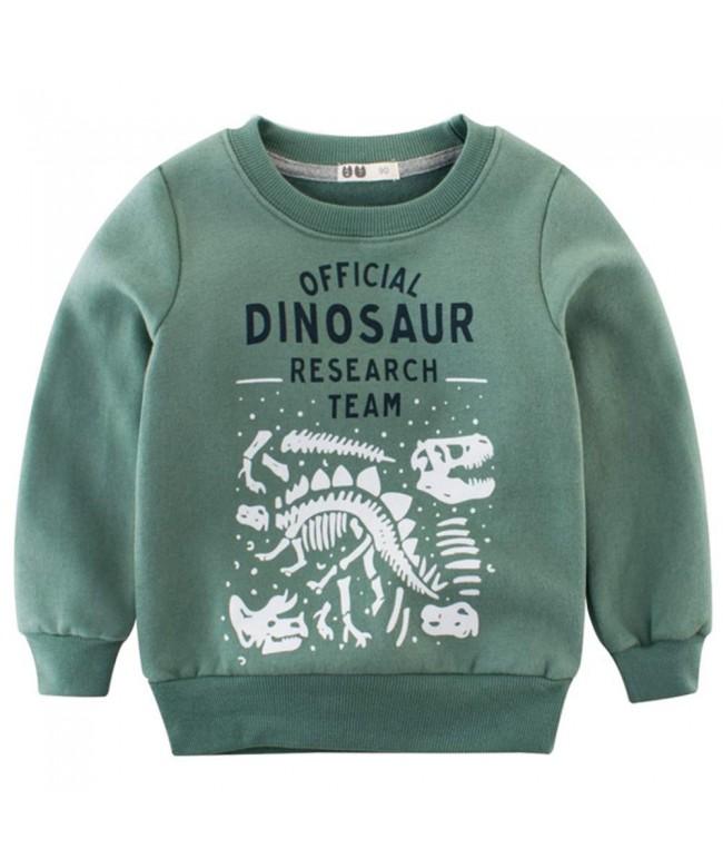 BesserBay Shirts Toddler Football Sweatshirt