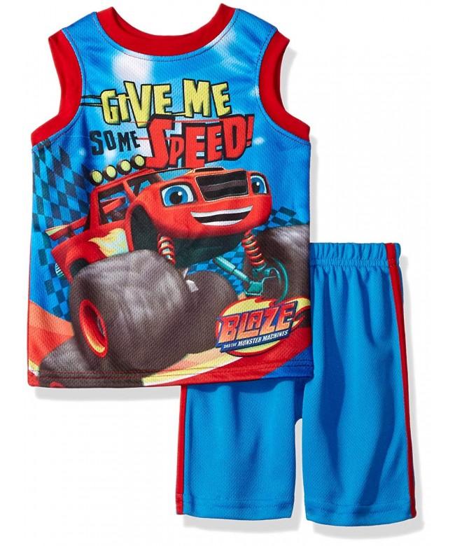Nickelodeon Boys Blaze Tank Short