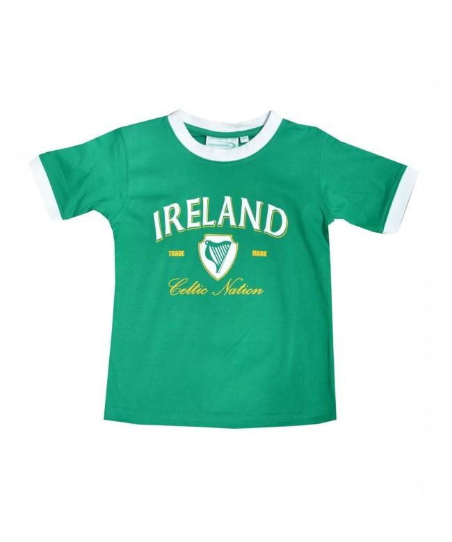 Green Celtic Nation Kids T Shirt