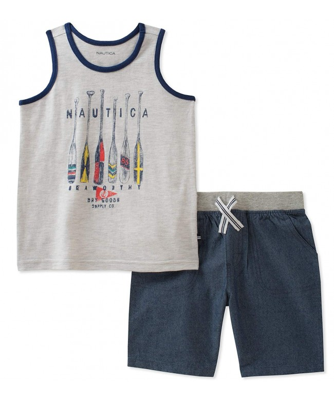 Nautica Boys Tank with Shorts