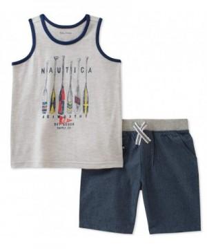 Nautica Boys Tank with Shorts