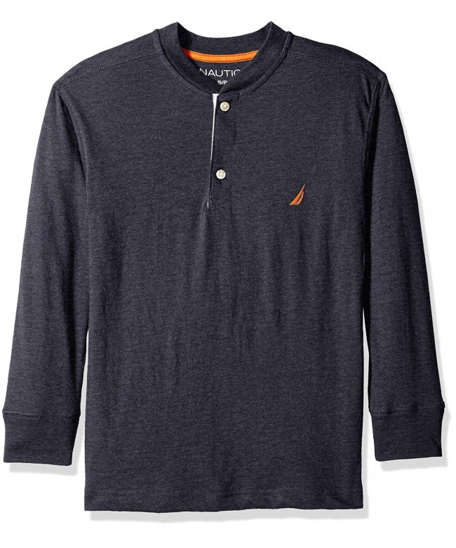 Nautica Boys Long Sleeve Henley