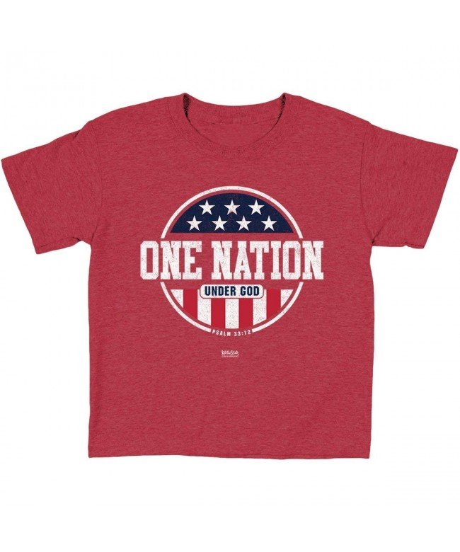 Kerusso Christian T Shirt Patriotic Nation