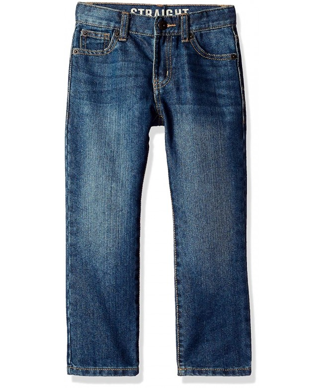Crazy Boys Basic Straight Jeans