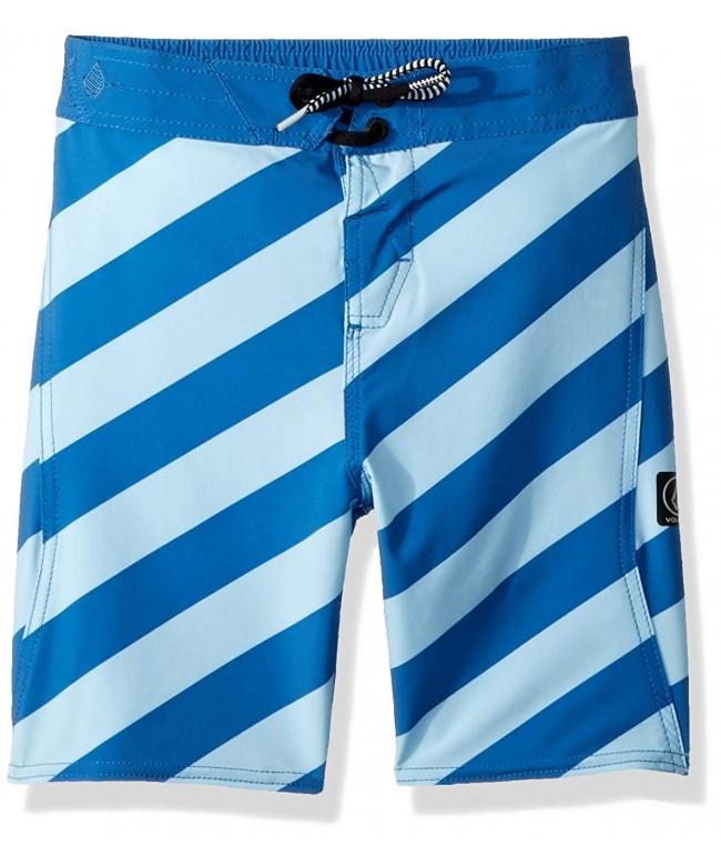 Volcom Stripey Elastic Striped Boardshort