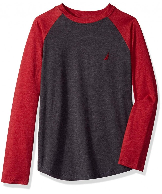 Nautica Boys Sleeve Raglan T Shirt