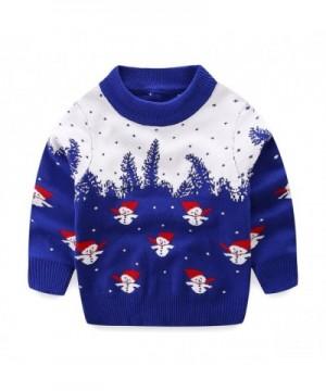 Mud Kingdom Christmas Sweaters Snowman