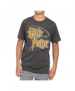 Harry Potter Youth T Shirt Heather
