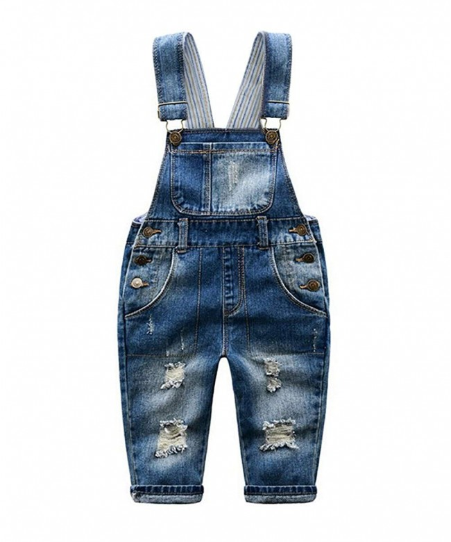 Tortor 1Bacha Little Distressed Overall