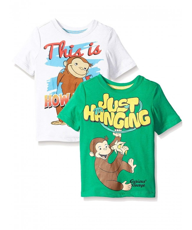 Curious George Sleeve T Shirt Toddler