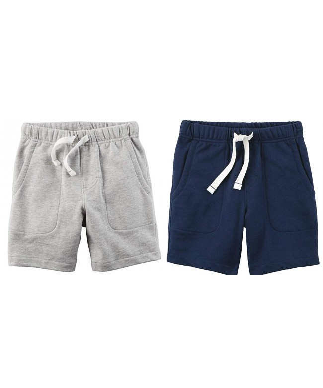 Carters Cotton Shorts Toddler Heather