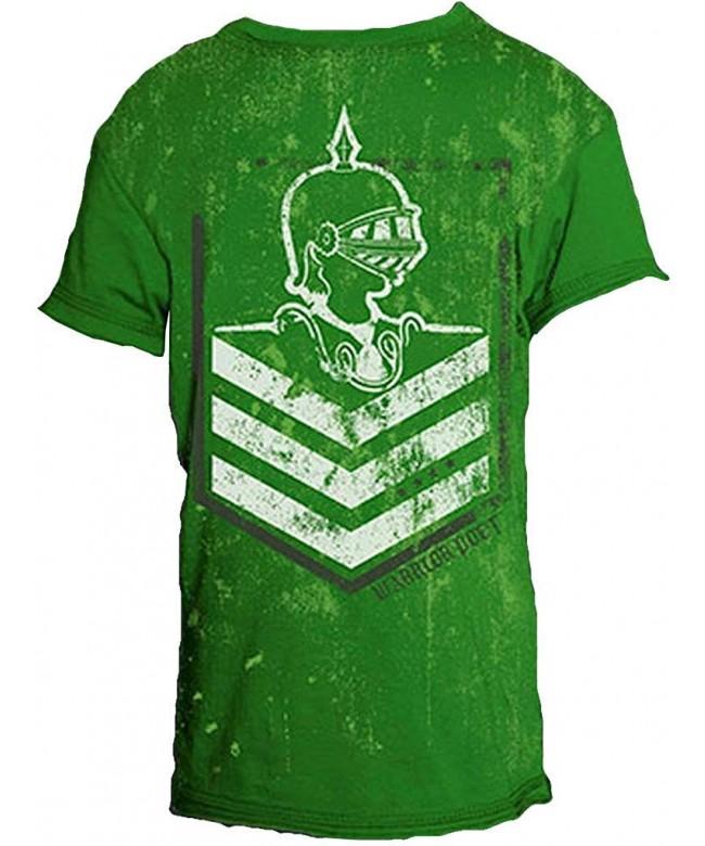 Warrior Poet Chevron Short Sleeved T Shirt
