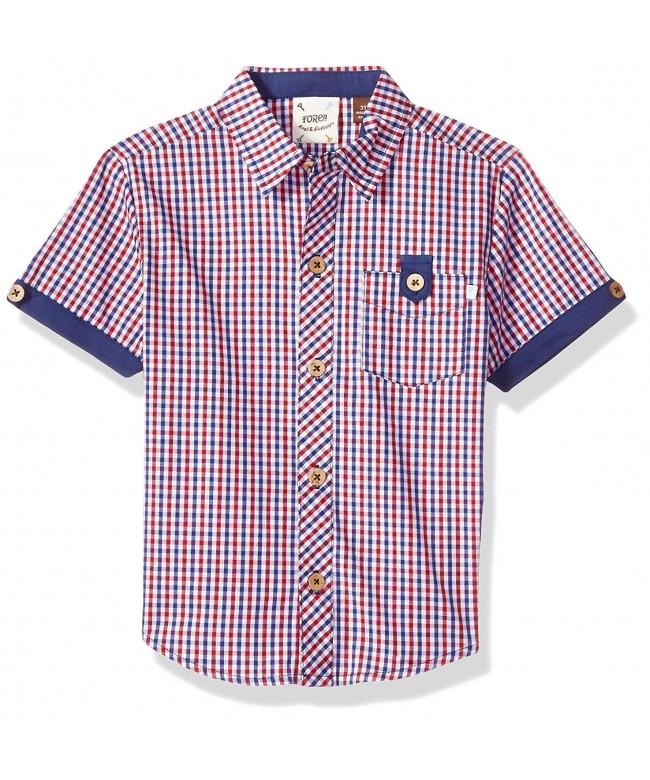 Fore Axel Hudson Checked Shirt