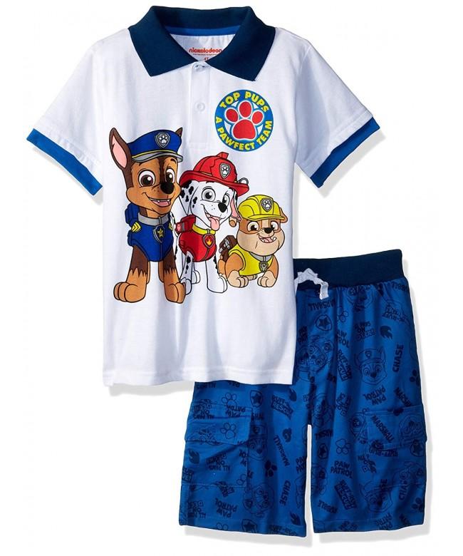 Nickelodeon Boys Patrol Polo Short