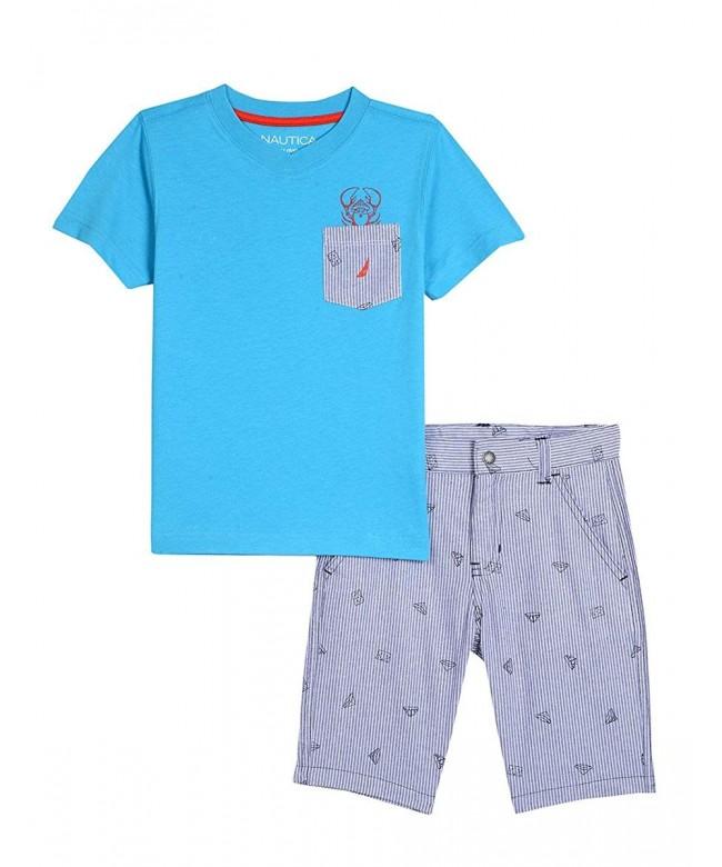 Nautica Boys Piece Pocket Short
