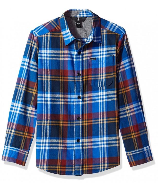 Volcom Boys Caden Sleeve Shirt