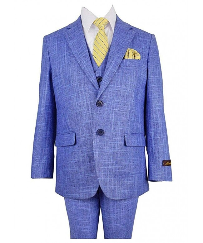 Alberto Regular Formal Piece Linen