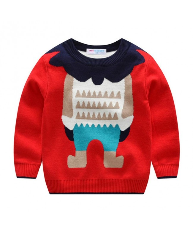 Mud Kingdom Sweaters Christmas Pullover
