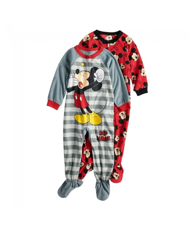 Mickey Toddler Fleece Blanket Sleeper