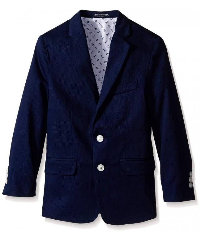 Nautica Boys Pique Blazer Jacket