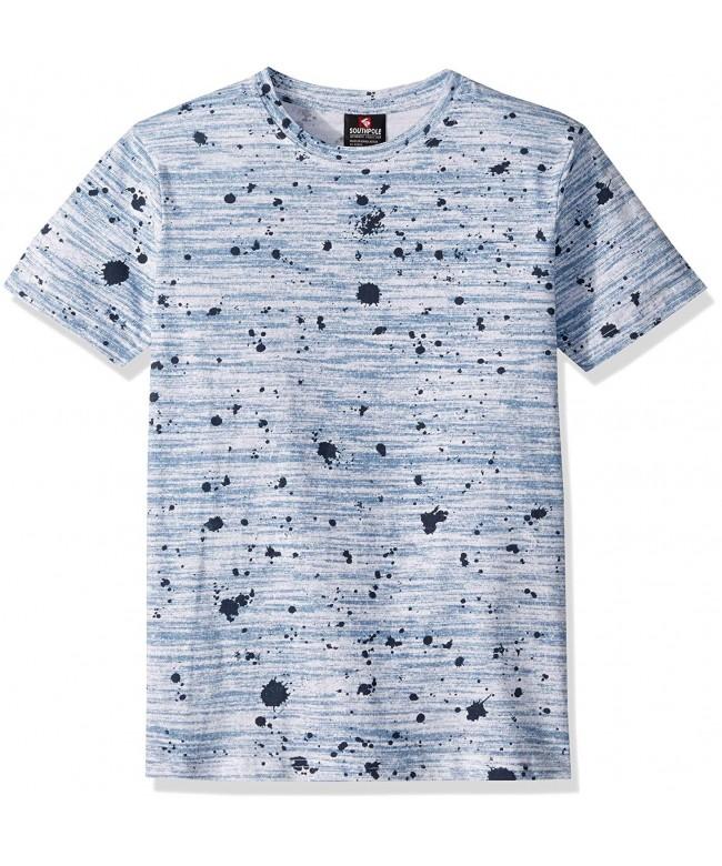 Southpole Print Short Sleeve T Shirt