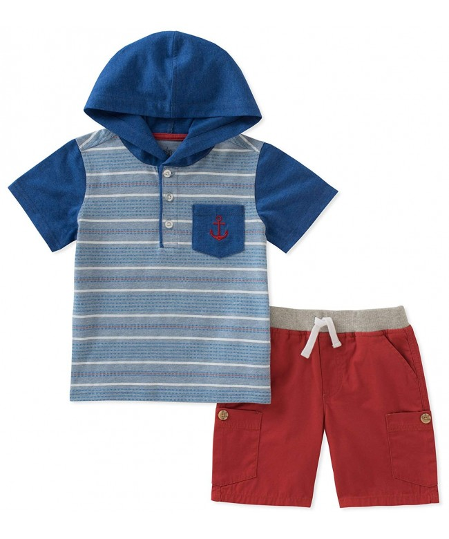 Kids Headquarters Pieces Hooded Shorts