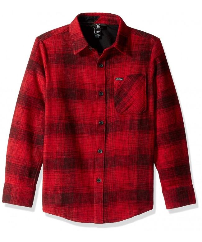 Volcom Buffalo Glitch Sleeve Flannel