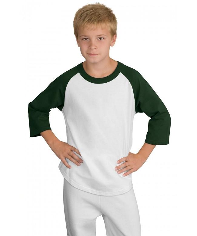 Sport Tek Youth Short Sleeve Shirt
