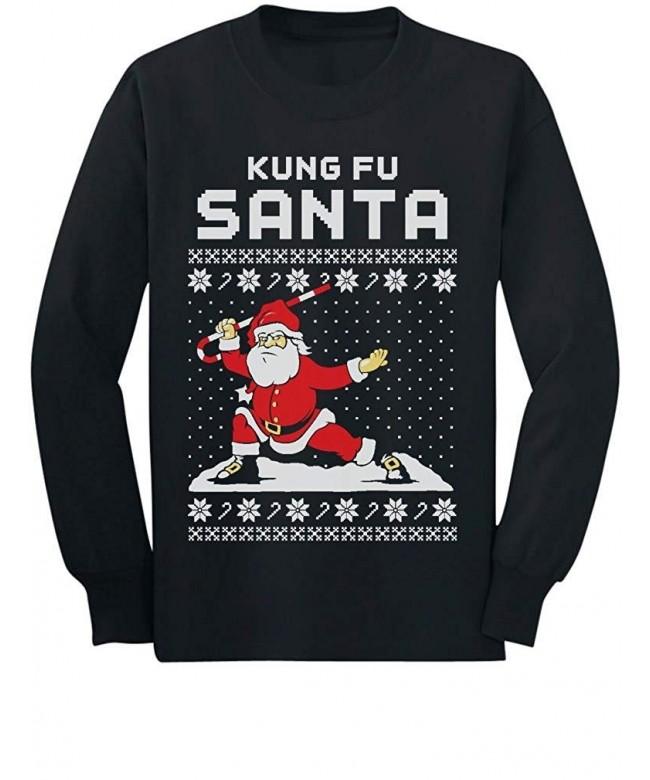 Santa Christmas Sweater Sleeve T Shirt