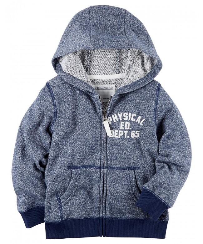 Carters Marled French Terry Hoodie