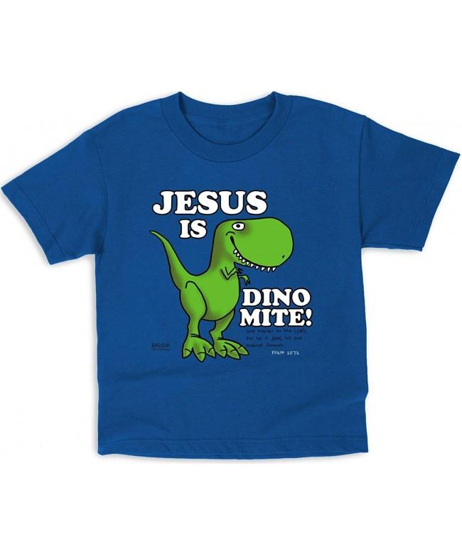 Dinomite Kidz Tee Royal Christian