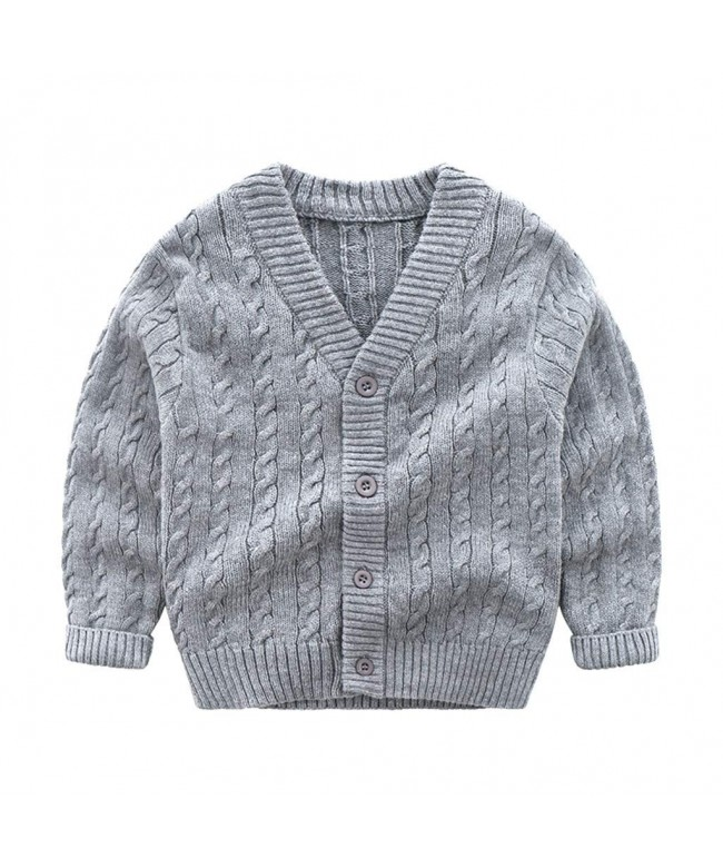 Wellwits School Uniform Cardigan Sweater