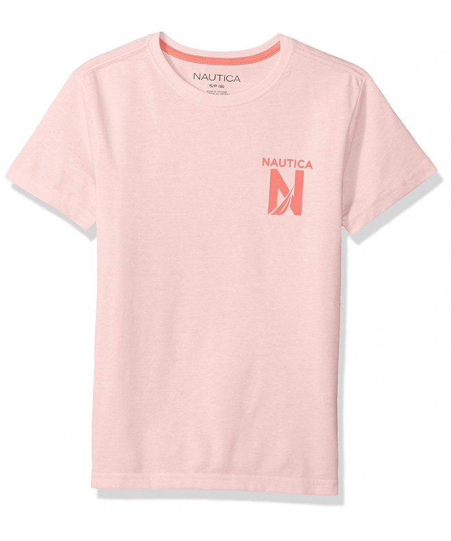Nautica Short Sleeve Crew Neck T Shirt