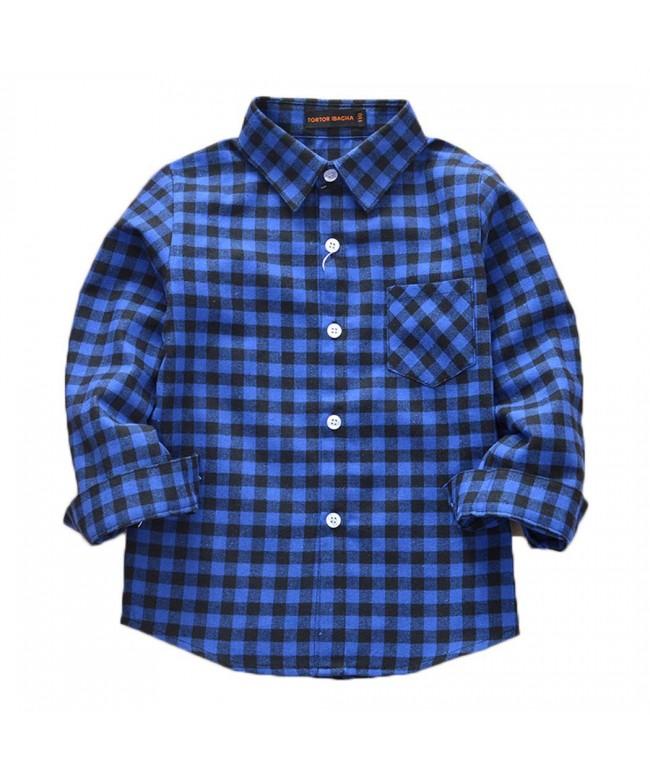 ASHER FASHION Unisex Sleeve Flannel